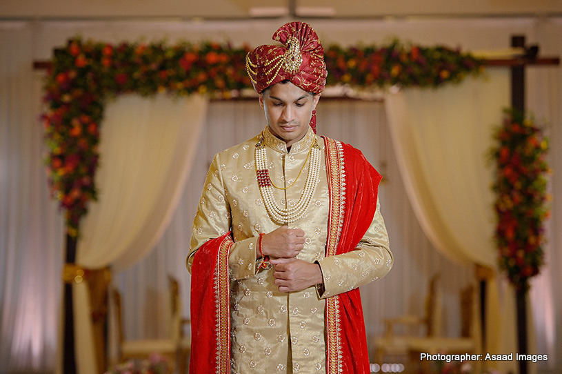 Indian groom wedding attire