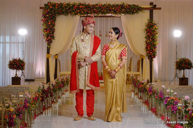Indoor Photoshoot of indian Couple