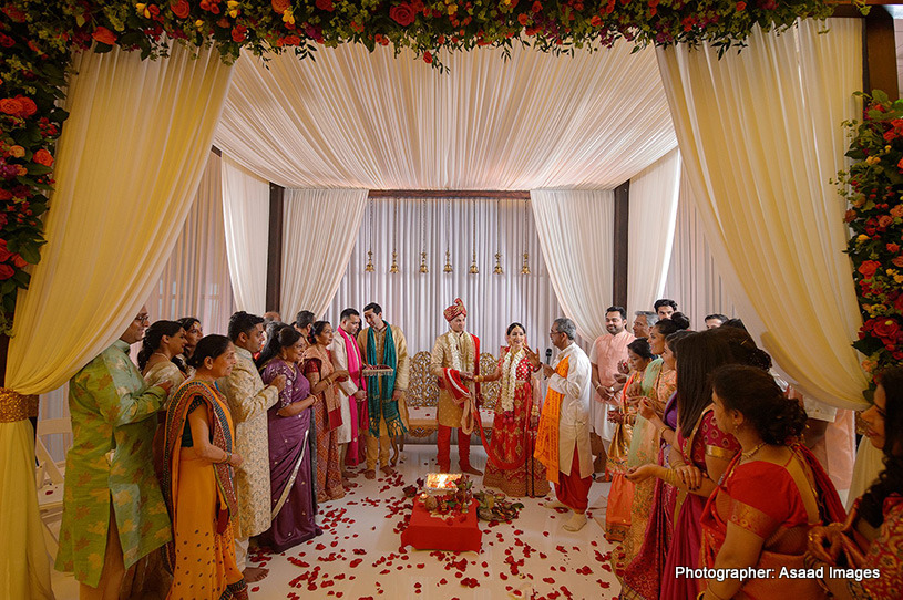 Gorgeous Indian Wedding mandap