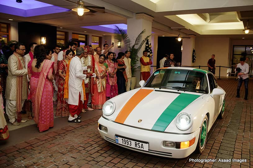 Attractive car for Dulha