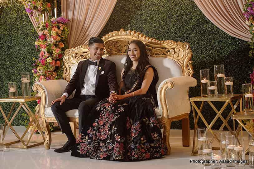 Kunj weds Hiren Indian Wedding at Harbor Beach Marriott Resort Photographed Asaad Images
