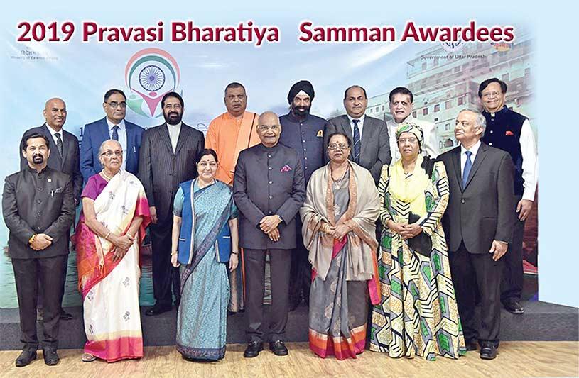 2019 Pravasi Bharatiya Samman Awardees