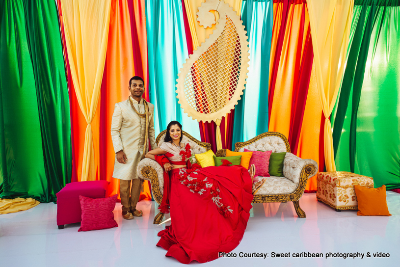 Indian Wedding colorful decor