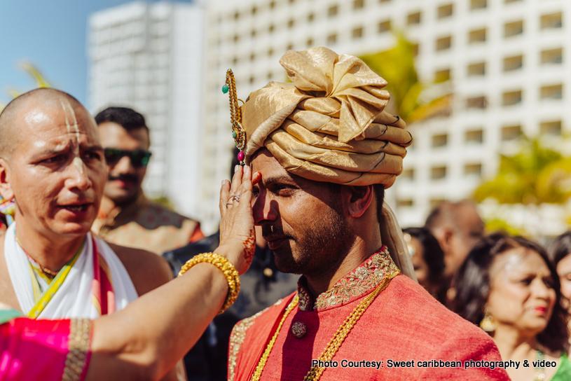 Indian groom