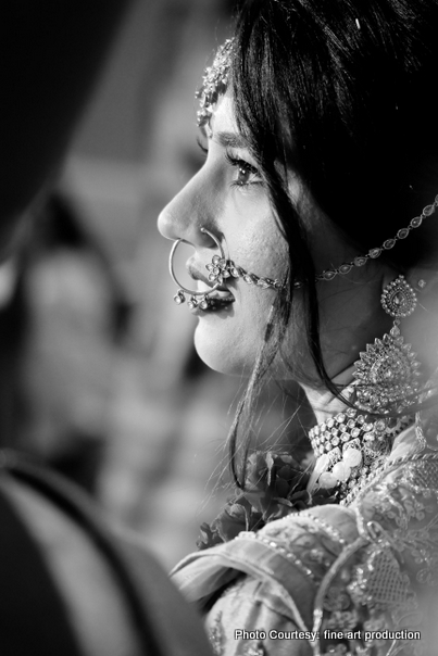 Detaild look Of Indian Bride