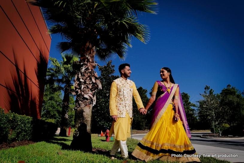 Haldi ceremony Photoshoot