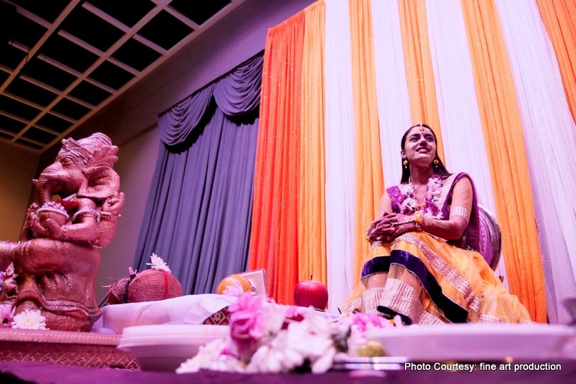 Out of the world haldi ceremony decor