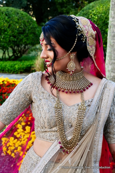 Detailed Jewelry look Of Indian Bride