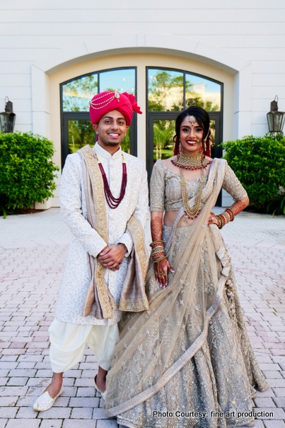 Indian Bride and Groom ready for Wedding