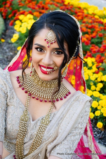 Pretty Indian Bride Posing
