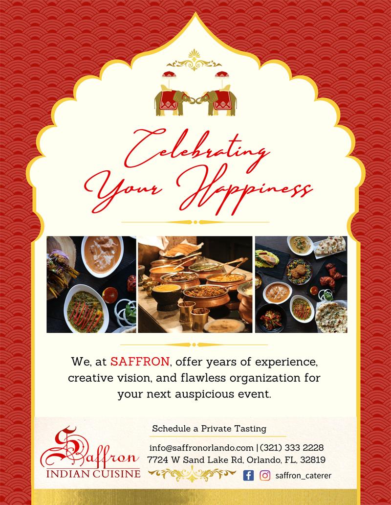 Saffron Indian Cuisine- Orlando