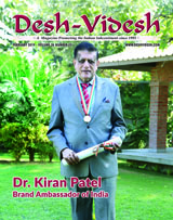 Dr. Kiran Patel: Brand Ambassador of India