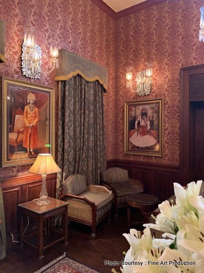 Inside rooms of Palace