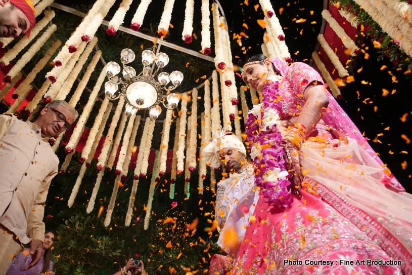 Awe-Aspiring Indian Bride Click
