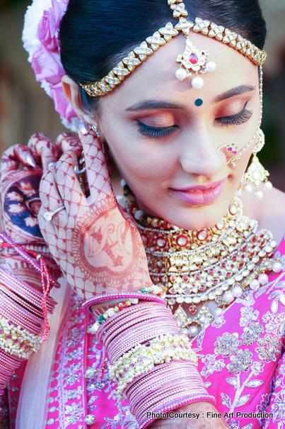 Detailed Look of Indian Bride
