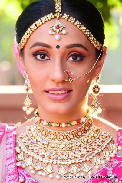 Indian Wedding Ceremony Bride Look