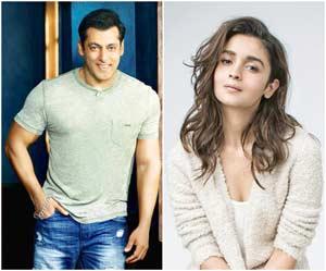 Alia Bhatt and Salman Khan in Sanjay Leela Bhansali's Inshallah
