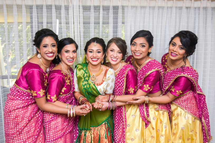 Indian Bride with BridesGrooms Capture