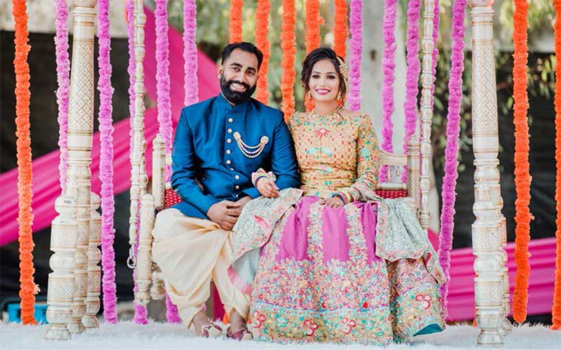 Indian weddings are made up of warm glances, shared laughter, loving stares, bold colors, elegant mandaps, and unique table settings