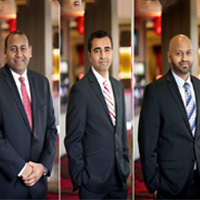 Three Indian -Americans Mehul Patel, Chirag Patel, and Mital Patel acquired an American Bank in Dallas