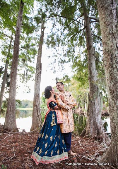 Newly Weds Indian Couple