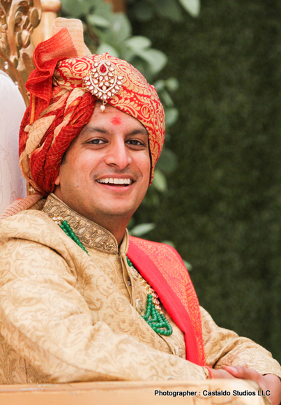 Indian Groom is Ready for his wedding