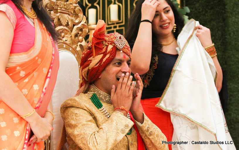Indian Groom Surprised