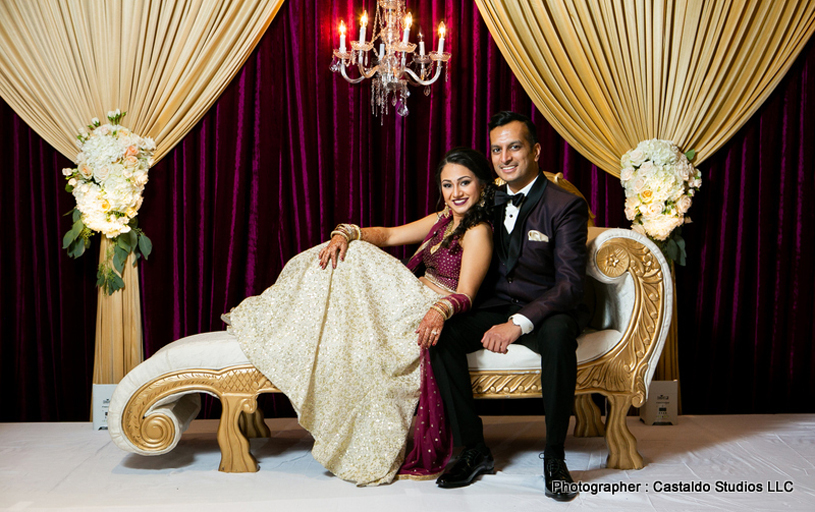 Most Romantic Indian Bride and Groom Photoshoot
