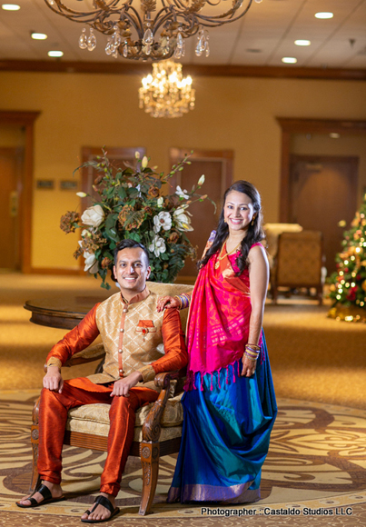 Perfect Indian Bride and Groom's Outfit