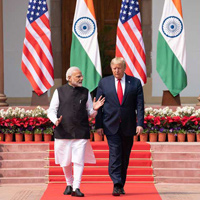 Trump's Historic Visit to India