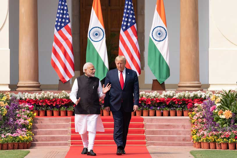 Trump's Historic Visit to India