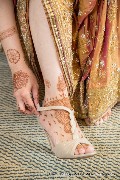 Indian Wedding Mehndi Design