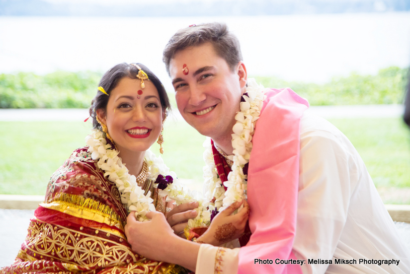 The Trupti and Patrick Fusion wedding at Woodmark Hotel Photographed by Melissa Miksch Photography