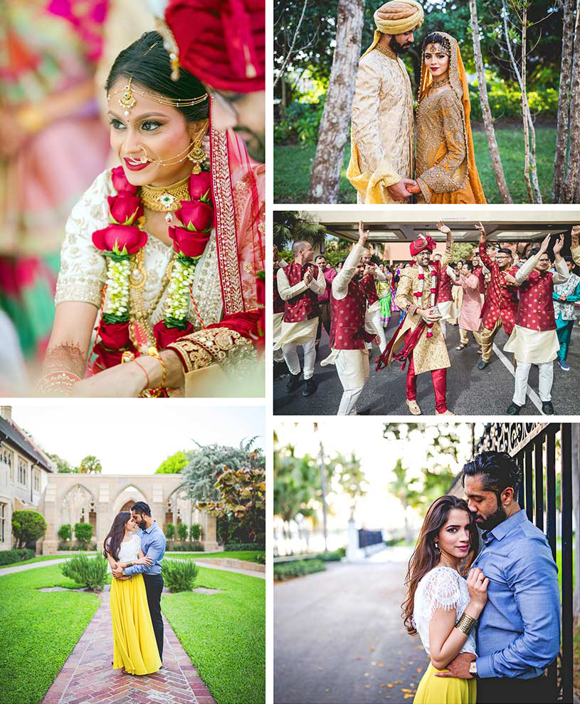 Beautiful Collage of indian wedding pictures