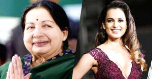 Kangana Ranaut to Play J Jayalalithaa in Biopic