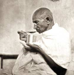 health problem To mahatma Gandhi