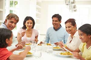 The easiest and best way to unwind from daily life issues is to spend time with family