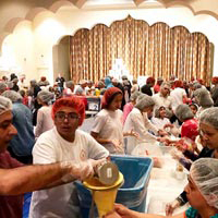 Day of Service at South Florida Hindu Temple