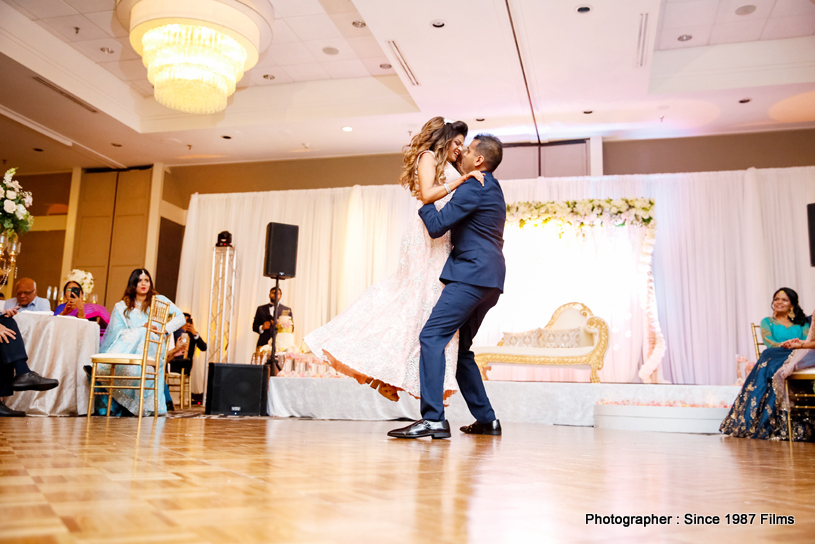Adorable Dance by indian couple at the reception