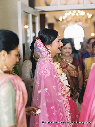 Indian Couple Having Tender Moment