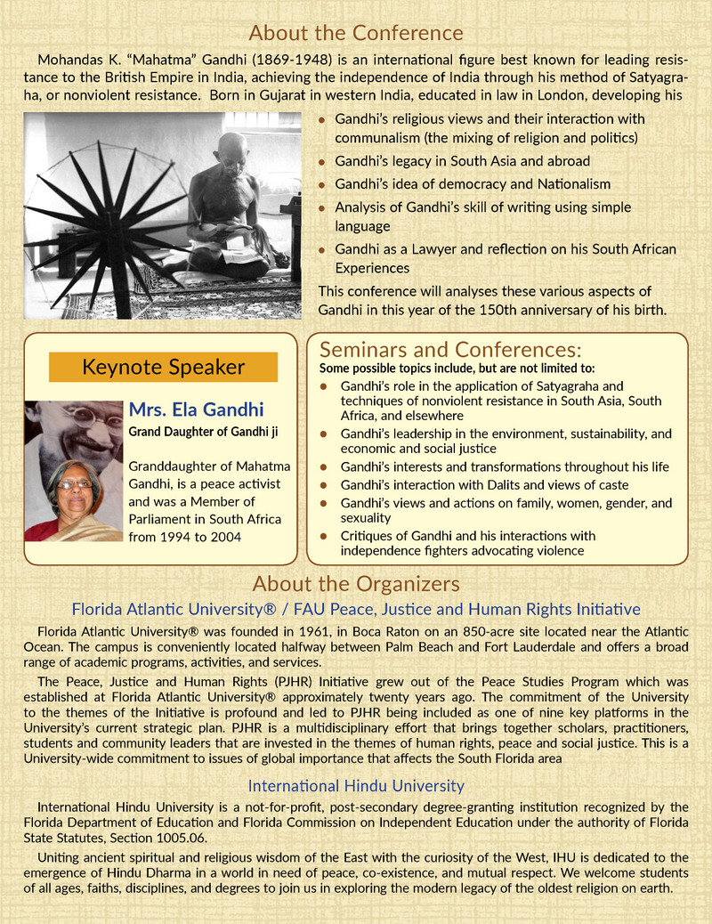 150 Years Of Gandhi: Impacts And Appraisals