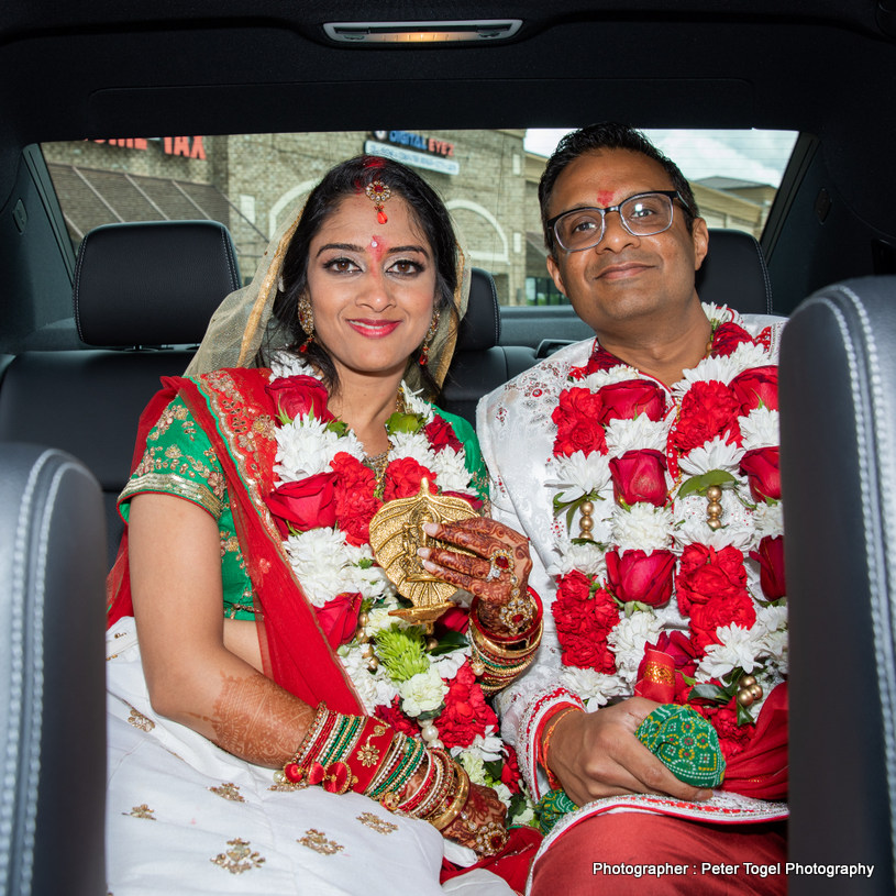 Beautiful Indian Couple's Photosession