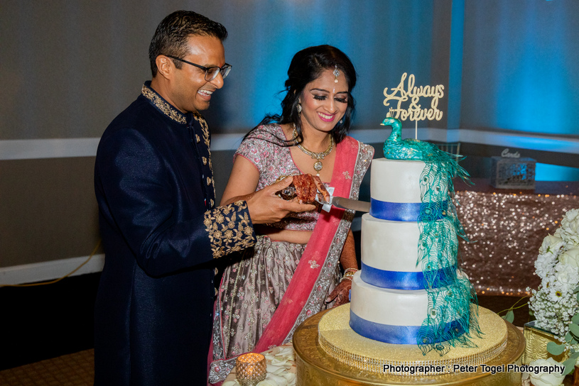 See this Elegant Wedding Cards Of the Indian Couple