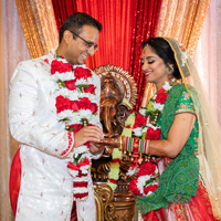 Beautiful capture of Indian Bride and Indian Groom