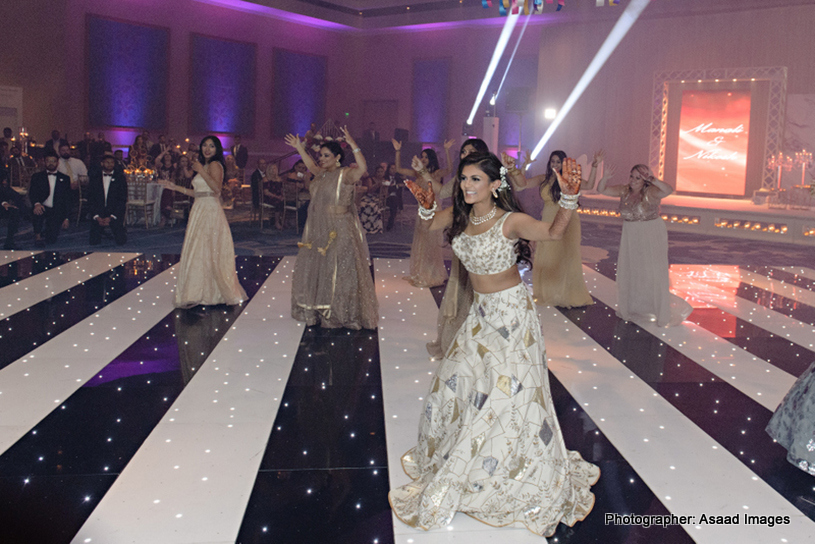 Indian wedding dance with bollywood beats
