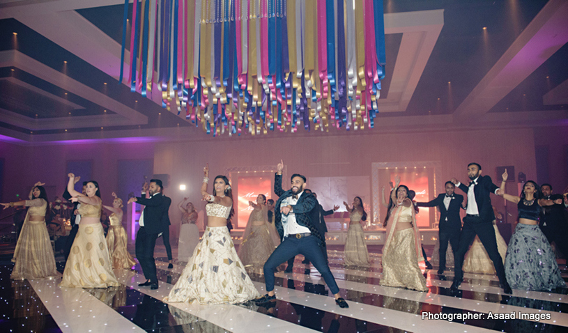 Indian Wedding dance on Bollywood Song