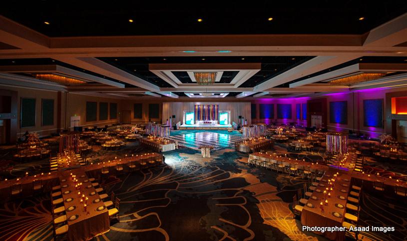 Wedding Reception Hall Decoration Capture