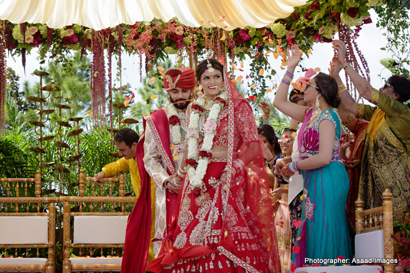 Addorable movement for Indian Bride and Groom