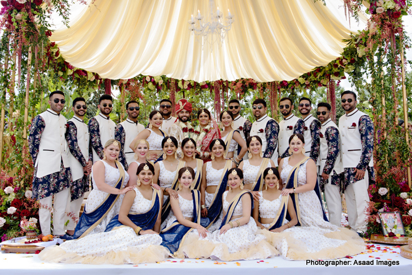 Indian Wedding Group Photography