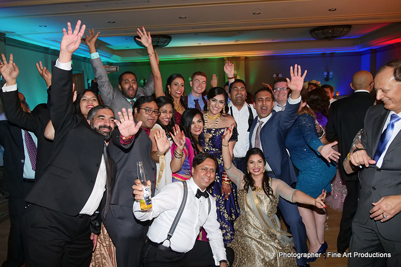 Indian Wedding Bhangra dance